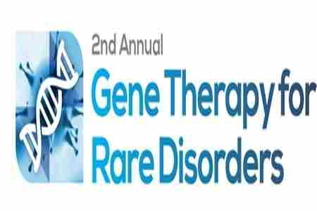 Gene Therapy for Rare Disorders Summit in Boston on 30 April 2018