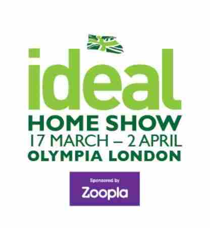 Ideal Home Show in London on 17 Mar