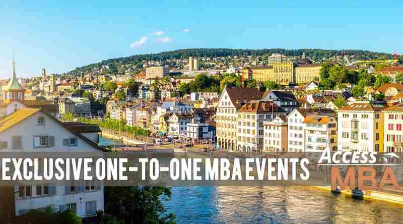 Top MBA event back in Zurich in Zurich on 5 Feb