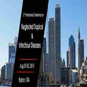 5th  International  Conference  on  Neglected Tropical & Infectious Diseases 2018 in Boston, MA ,USA on 29 Aug