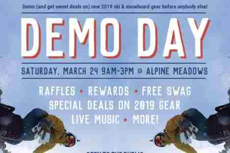 Sports Basement Demo Day at Alpine Meadows - March 24 in Olympic Valley on 24 Mar