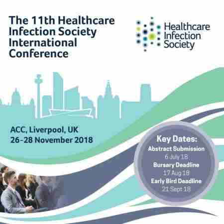 The Healthcare Infection Society International Conference 2018, Liverpool in Liverpool on 26 November 2018