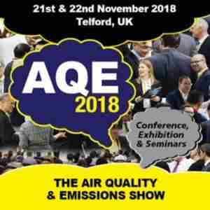 AQE Air Quality and Emission Conference and Exhibition November 2018 in Telford on 21 November 2018
