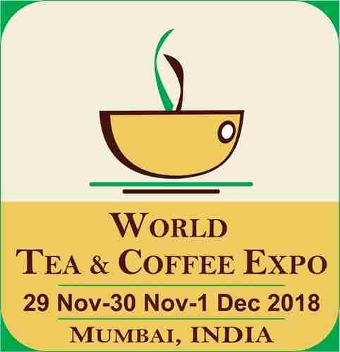 6TH WORLD TEA & COFFEE EXPO MUMBAI INDIA 2018 in Mumbai on 29 Nov