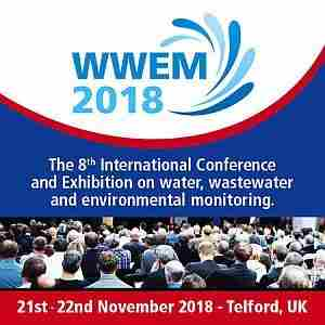 WWEM Water and Wastewater Monitoring Conference and Exhibition November 2018 in Telford on 21 November 2018