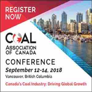 Coal Association of Canada National Conference, Vancouver 2018 in Vancouver on 12 Sep
