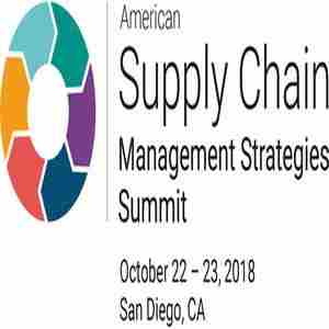 American Supply Chain Management Strategies Summit 2018, San Diego in San Diego on 22 October 2018