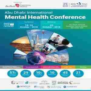 Abu Dhabi International Mental Health Conference, 2018 in Abu Dhabi on 19 October 2018