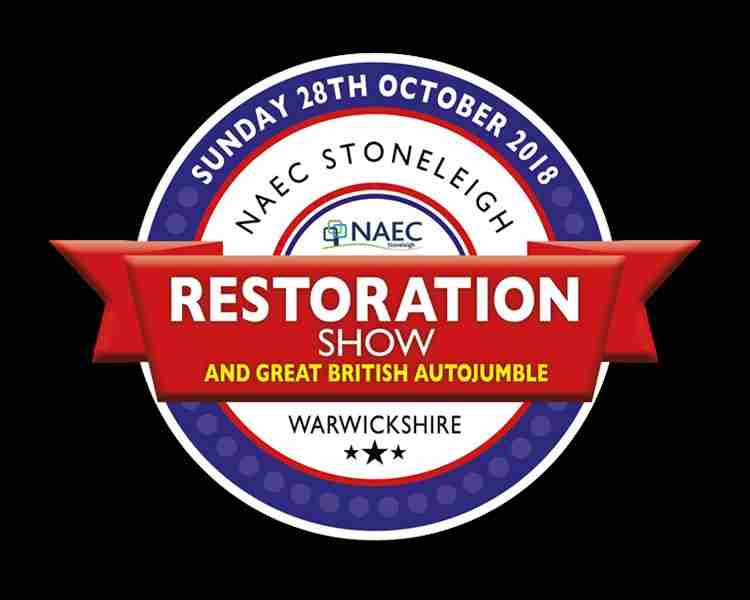 Restoration Show in Coventry on 28 October 2018