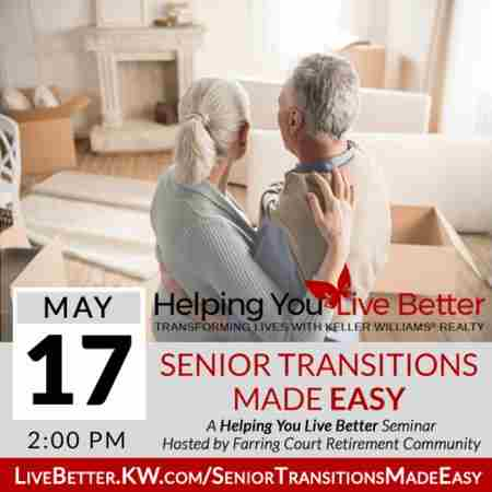 Senior Transitions Made Easy at Farrington Court in Kent on 17 May