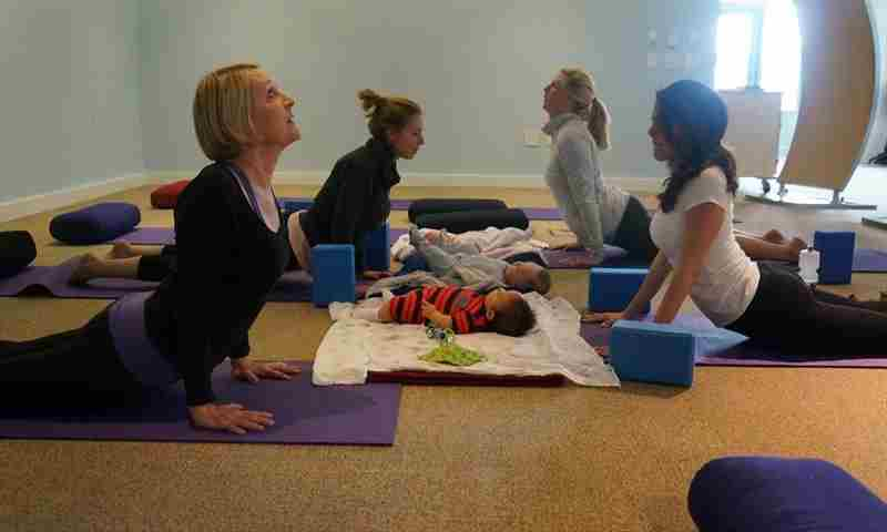 Parent & Baby Yoga in New York on 28 May