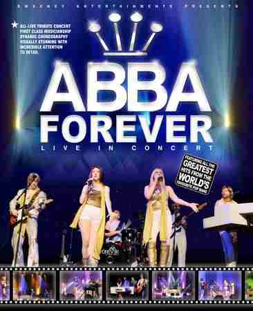 Sweeney Entertainments Presents Abba Forever in Buxton on 18 November 2018