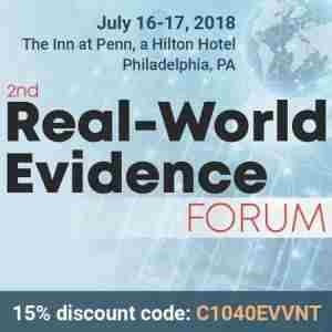 2nd Real-World Evidence Forum in Philadelphia on 16 Jul