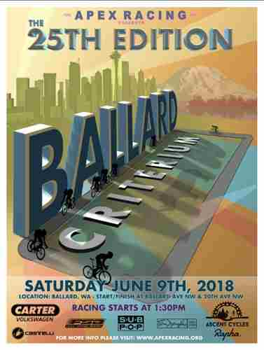 Ballard Criterium in Seattle on 9 Jun