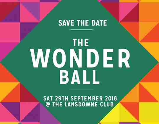 The Wonder Ball in London on 29 September 2018