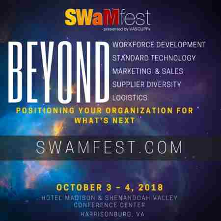 SWaMfest 2018 - BEYOND |Virginia's premier networking and educational event in Harrisonburg on 3 Oct