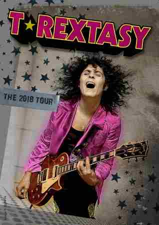 Sweeney Entertainments Presents T.Rextasy on 29 Nov 2018 in Chesterfield on 29 November 2018