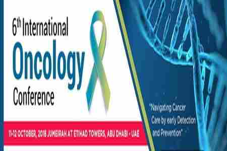 6th International Oncology Conference in Abu Dhabi on 11 Oct