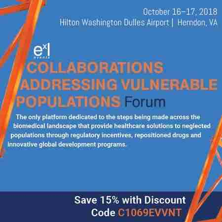 Collaborations Addressing Vulnerable Populations Forum in Herndon on 16 Oct