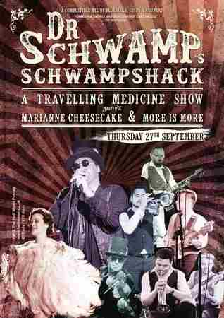Dr Schwamp's Schwampshack - A traveling Medicine Show at Half Moon Putney in Greater London on 27 September 2018