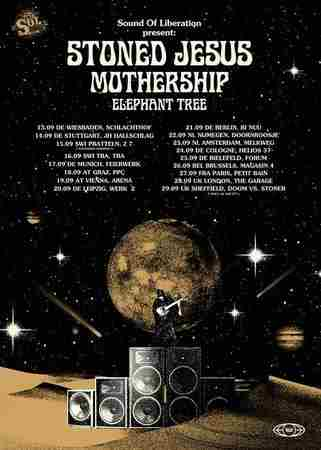 Stoned Jesus | Mothership | Elephant Tree @ The garage in Greater London on 28 September 2018