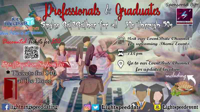 Professionals & Graduates Singles Get2Gether in Washington on Sunday, July 22, 2018