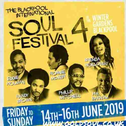 BLACKPOOL International Soul Festival in Blackpool on 14 June 2019