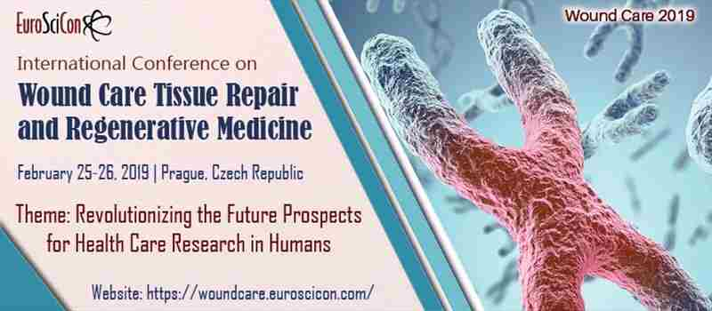 EuroSciCon Conference on Wound Care, Tissue Repair and Regenerative Medicine 2019 in czech repubilc on 25 February 2019
