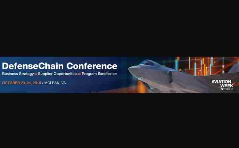 DefenseChain Conference in McLean, VA on 23 Oct