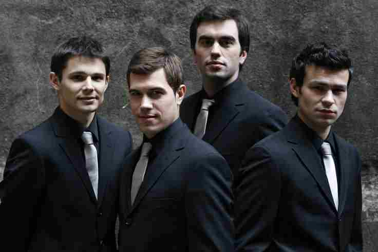 Quatuor Modigliani in Paris on 21 Oct