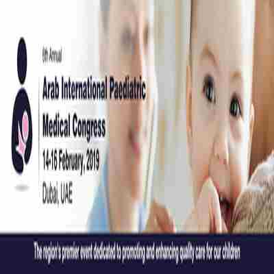 The Arab International Paediatric Medical Congress in Dubai on 14 February 2019