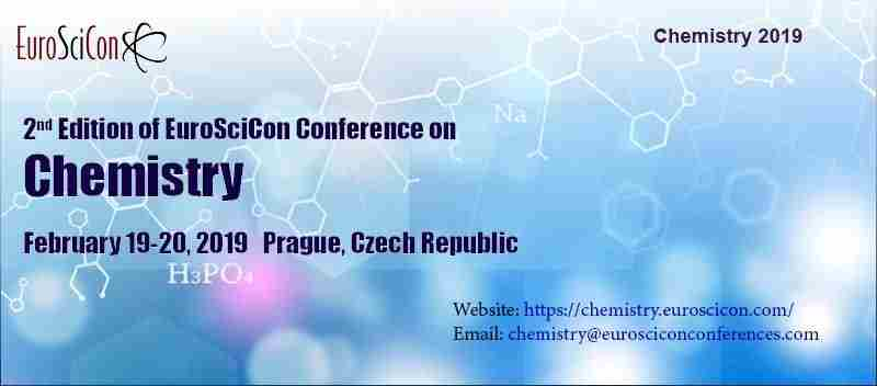 Chemistry 2019 in Prague on Tuesday, February 19, 2019