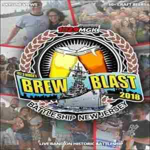 102.9 WMGK's 7th Annual Brew Blast on the Battleship in Camden on 8 Sep