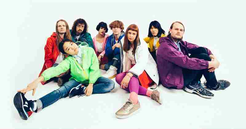Superorganism in San Francisco on 27 September 2018