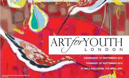 Art for Youth London 2018 in London on 12 Dec