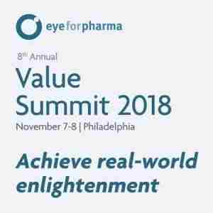 eyeforpharma Value Summit 2018 in Philadelphia on 7 Nov