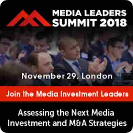 Media Leaders Summit 2018 in Greater London on 29 November 2018
