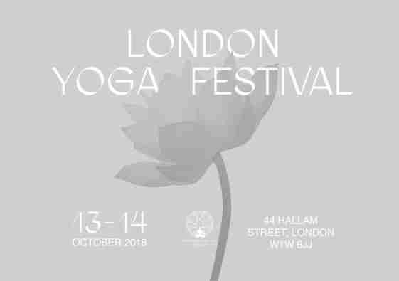 The London Yoga Festival 2018 in London on 13 October 2018