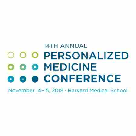 The 14th Annual Personalized Medicine Conference at Harvard Medical School in Boston on 14 Nov