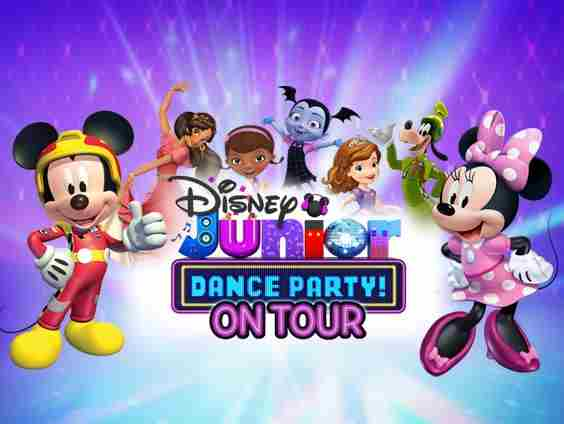 FAMILY  Disney Junior Dance Party On Tour! in New York City on 15 Sep