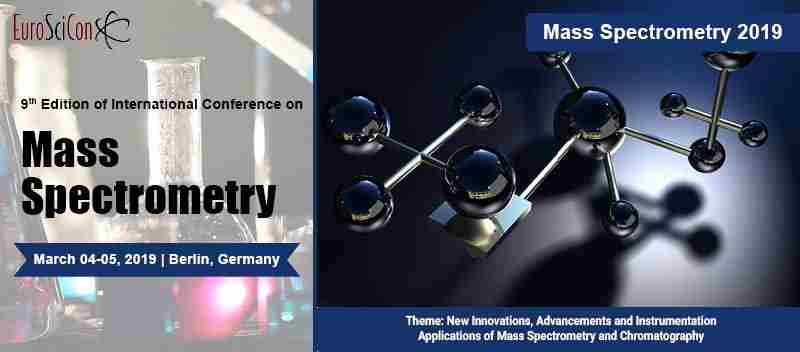 9th International Conferences On Mass Spectrometry in London on 04 March 2019