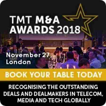 TMT M&A Awards 2018 in Greater London on 27 Nov