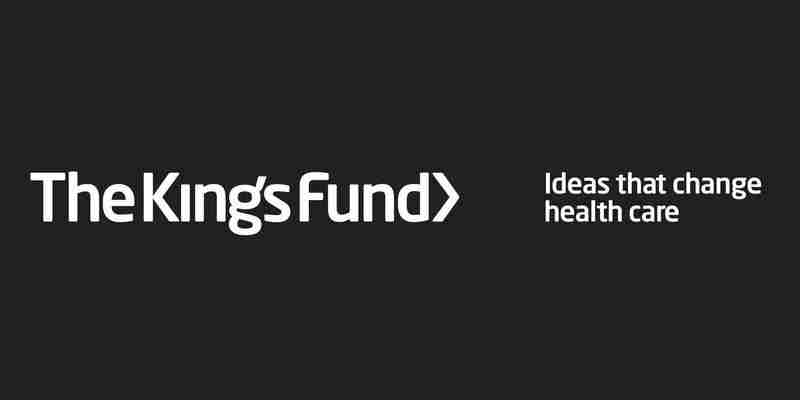 The King's Fund annual conference 2018 in London on 27 November 2018