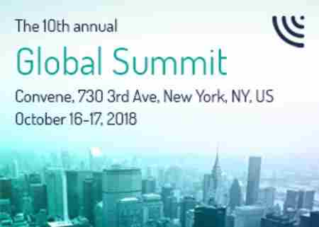 CPI Global Summit, 16-17 October, New York in New York on 16 Oct