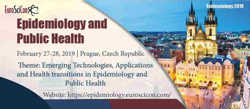 Epidemiology and Public Health in Prague on Wednesday, February 27, 2019