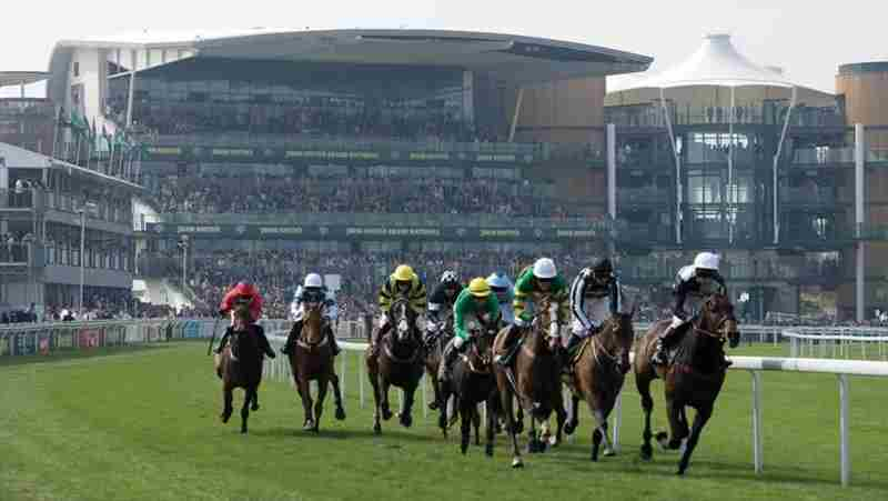 Aintree Grand National Festival in Liverpool on 28 October 2018