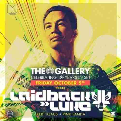 The Gallery: Laidback Luke in London on 05 October 2018