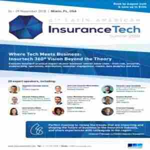 6th Latin American InsuranceTech Summit 2018 in Coral Gables on 26 Nov