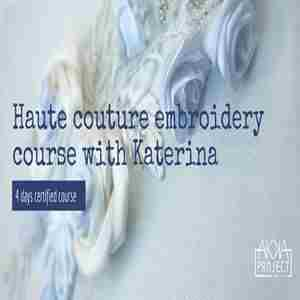 Haute couture embroidery course with Katerian at Akka Project Dubai in Dubai on 21 Nov