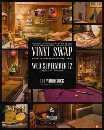 Good Looks Collective x AMC Vinyl Swap & Music Industry Networking Mixer in New York on 12 Sep